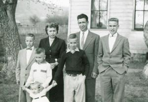 Grandpa Oldham's Funeral day